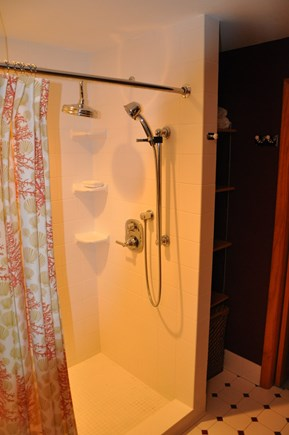 Eastham Cape Cod vacation rental - Master Bathroom walk in shower