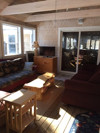 Eastham Cape Cod vacation rental - Screened Porch off the dining area of the house