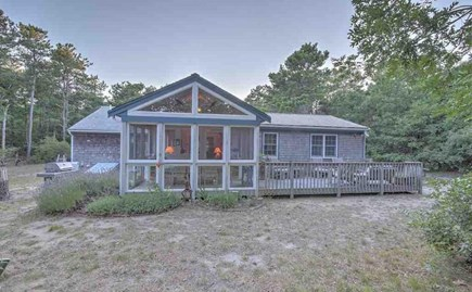 Eastham Cape Cod vacation rental - Screened Dining Porch and deck