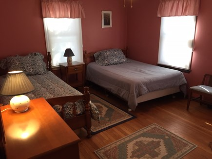 Eastham Cape Cod vacation rental - Front Bedroom Twin and Full beds