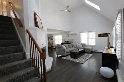 Yarmouthport Cape Cod vacation rental - Contemporary Living room