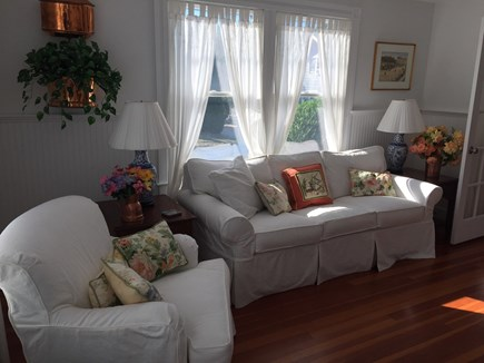 West Yarmouth Cape Cod vacation rental - House: Sitting room of bedroom suite on main floor