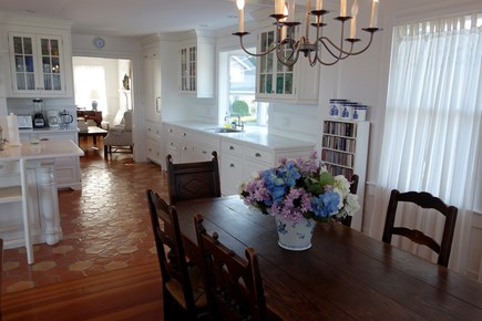 West Yarmouth Cape Cod vacation rental - House: The dining area and kitchen