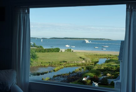 West Yarmouth Cape Cod vacation rental - House: The amazing view from Bedroom 1
