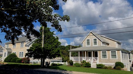 West Yarmouth Cape Cod vacation rental - The House on the left, the Cottage on the right