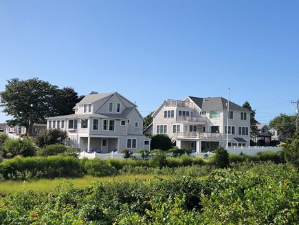 West Yarmouth Cape Cod vacation rental - The Cottage on the left, the House on the right