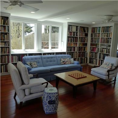 West Yarmouth Cape Cod vacation rental - Library