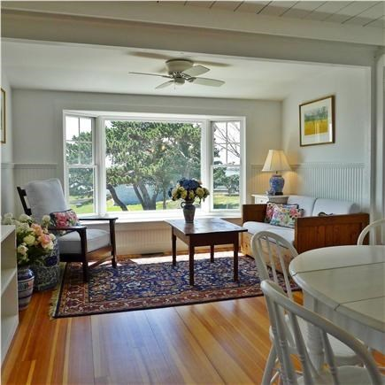 West Yarmouth Cape Cod vacation rental - Cottage: Dining area w/ sitting area