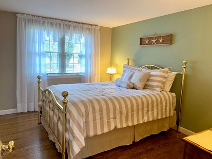 Harwich Cape Cod vacation rental - Queen bed, across the hall from bathroom (bath/shower combo)