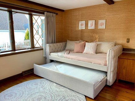 Harwich Cape Cod vacation rental - Super comfy daybed with trundle, new twin sized mattresses.