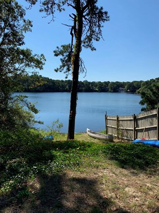 Harwich Cape Cod vacation rental - Access to a freshwater lake that's only 300 ft from our driveway.