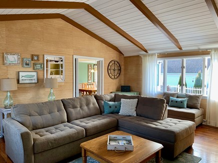 Harwich Cape Cod vacation rental - Spacious, bright living rm w/ ample seating for the whole family
