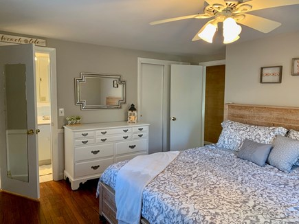 Harwich Cape Cod vacation rental - King sized bed with full bath (stand-up shower)