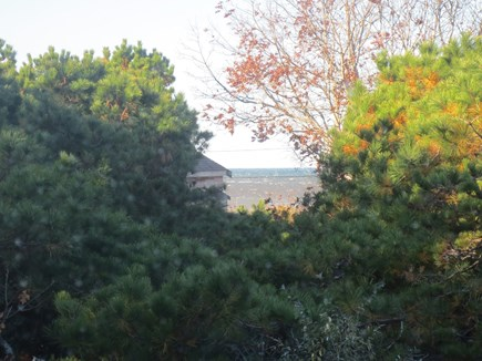 Eastham, Bayside Cape Cod vacation rental - View of Cape Cod Bay from the living room.