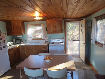 Eastham, Bayside Cape Cod vacation rental - Eat in kitchen.