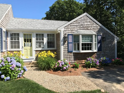 West Harwich Cape Cod vacation rental - Welcome to Seascape! Follow the stone pathway to enter.
