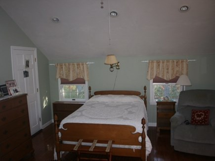 West Harwich Cape Cod vacation rental - Bedroom with double bed & 2 twin bunk beds