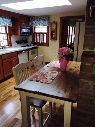 West Harwich Cape Cod vacation rental - Bright, fully equipped kitchen with sky light