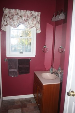 West Harwich Cape Cod vacation rental - Cranberry bathroom with shower off of master bedroom
