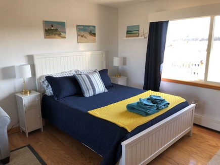 Truro Cape Cod vacation rental - Queen sized bed with all new linens