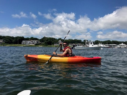 West Yarmouth Cape Cod vacation rental - Kayak rentals are available nearby.