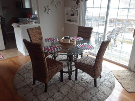 West Yarmouth Cape Cod vacation rental - Dining Room with sliders to the deck