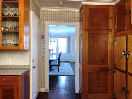 Harwich Port Cape Cod vacation rental - Looking to the dining room from butlers pantry