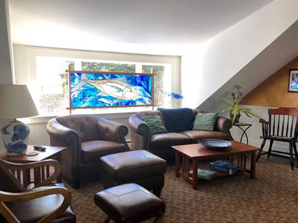 Harwich Port Cape Cod vacation rental - Family room with pool table
