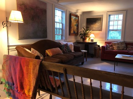 Wellfleet Cape Cod vacation rental - The living room, memories of old Cape Cod