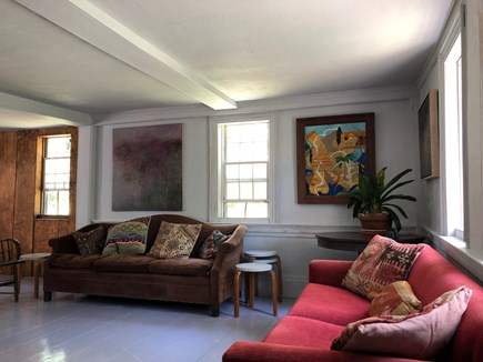 Wellfleet Cape Cod vacation rental - The living room.