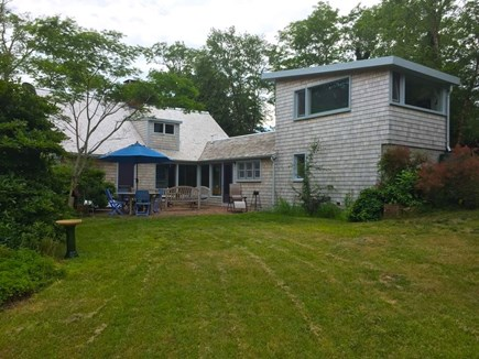 Wellfleet Cape Cod vacation rental - View from the field.