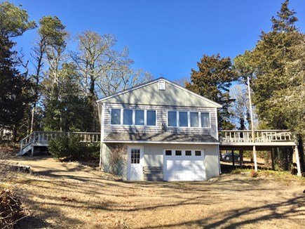 Orleans Cape Cod vacation rental - View looking up from water up to house