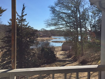 Orleans Cape Cod vacation rental - View from one of the two decks