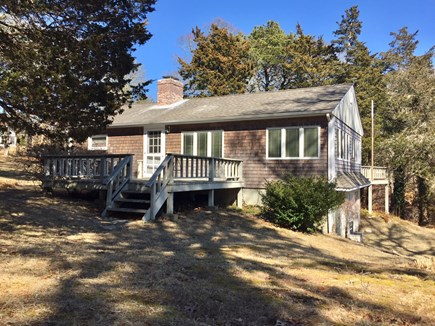 Orleans Cape Cod vacation rental - Side view of house