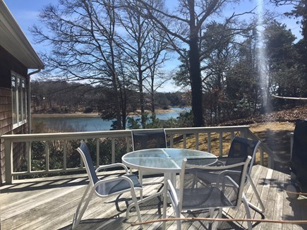 Orleans Cape Cod vacation rental - One of 2 decks with views!