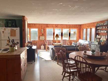 Orleans Cape Cod vacation rental - A look at the living and dining area