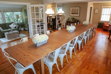 Dennis Cape Cod vacation rental - Large dining room