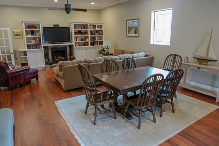 Dennis Cape Cod vacation rental - TV lounge and smaller dining area