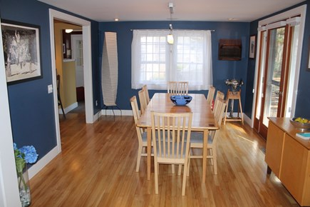 Orleans Cape Cod vacation rental - Dining area off kitchen.