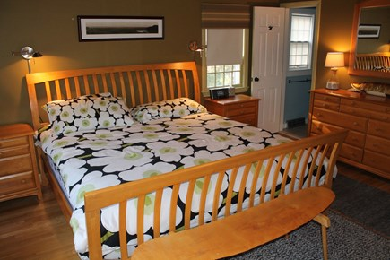 Orleans Cape Cod vacation rental - King master bedroom