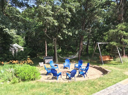 Eastham Cape Cod vacation rental - Hammock, Swing & Fire pit...S'Mores Anyone?!!