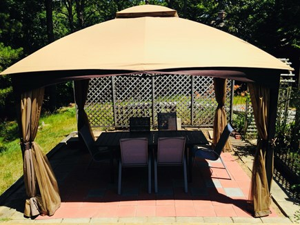 Eastham Cape Cod vacation rental - Gazebo with netting, Outdoor dining!