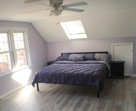 Eastham Cape Cod vacation rental - Upstairs Master Bedroom with King bed.