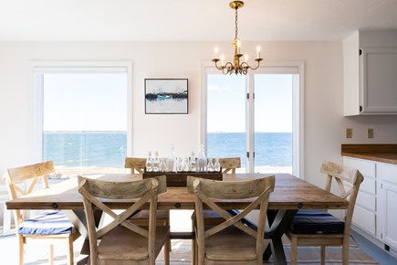 Barnstable Cape Cod vacation rental - Dine outside or in, each with a water view