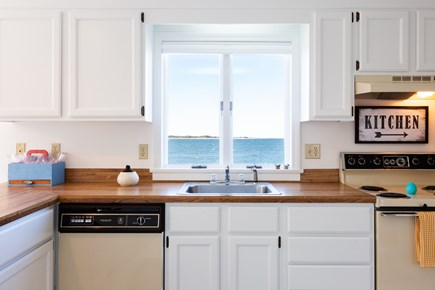 Barnstable Cape Cod vacation rental - Even working at the kitchen sink you have a water view