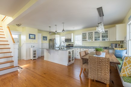 Dennis, Mayflower Beach Cape Cod vacation rental - Large eat-in kitchen