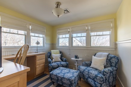 Dennis, Mayflower Beach Cape Cod vacation rental - Upstairs Den with TV
