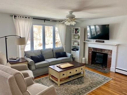 Barnstable, Hyannis Cape Cod vacation rental - Living room with TV and games