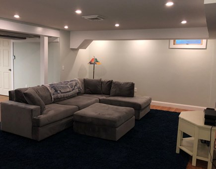 South Orleans on Pleasant Bay Cape Cod vacation rental - Main House Finished Basement with TV