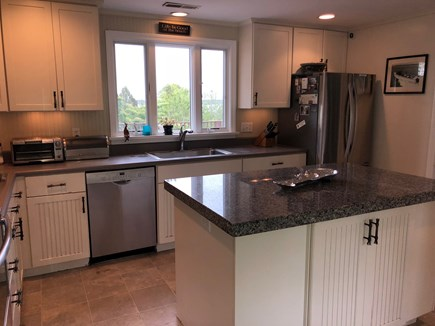 South Orleans on Pleasant Bay Cape Cod vacation rental - Main House Kitchen